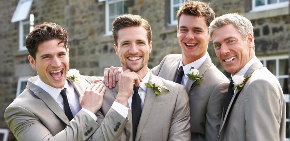 Matching Haircuts For Weddings